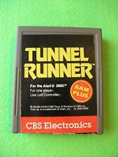 Tunnel Runner (Atari 2600, 1983) - Cleaned and Tested!