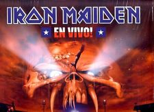 "IRON MAIDEN ""EN VIVO"" 2 LP LIMITED EDITION PICTURE DISC RARE"