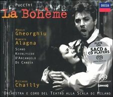 Puccini: La BohŠme Super Audio Hybrid CD (SACD, Jun-2003, 2 Discs, Decca)