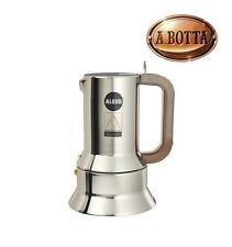 Espressomaschine ALESSI 9090/6 in Stainless Steel 6 Cups Espresso Coffee Maker
