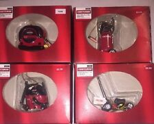 NEW Craftsman Sears Tool Minis, Collectible Christmas ORNAMENTS 2010-2011 (4)