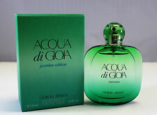 Giorgio Armani Acqua Di Gioia Jasmine Edition 1 0z EDP Spray For Women SEALED