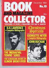 DH LAWRENCE / JOHN BUCHAN / GEORGETTE HEYER Book Collector no. 10 Dec 1984