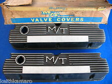 NOS FORD MICKEY THOMPSON HOLLEY VALVE COVERS 103R-55 289 302 351W MUSTANG COUGAR