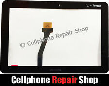 Samsung Galaxy Tab 10.1 P7500 Touch Screen Digitizer Window Glass Verizon Logo R