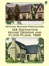 124 Distinctive House Designs and Floor Plans, 1929 (Dover Architectur-ExLibrary