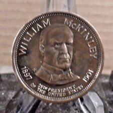 BRASS ALLOY WILLIAM MCKINLEY (PRES. #25) COMMEMORATIVE COIN (12717)1