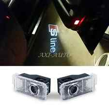 2x Laser Projector LED Door Logo Courtesy Light for Sline AUDI R8 A1 A3 A4 A5 Q5