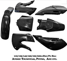 Plastics Fender kit for Atomik Reign 125/140/150/160 cc Trail Pit Dirt Bike
