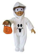 "For American Girl & Boy Dolls Halloween Ghost Costume 18"" Doll Clothes"