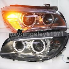 For BMW X1 E84 LED Angel Eyes Front Lamps HID xenon bulb lights 2009-2014 year