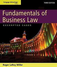 Fundamentals of Business Law : Excerpted Cases by Roger LeRoy Miller (2012,...