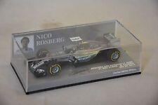 MINICHAMPS - MERCEDES AMG PETRONAS F1 TEAM W06 Rosberg USA GP 2015 1/43