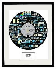 PINK FLOYD - MEMORABILIA - Framed Art Poster - Limited Edition - An Ideal Gift