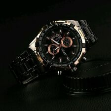 Curren Men Watches Military Movement Wristwatch Steel Analog Quartz