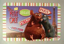 One Disney Ratatouille Remy and Emile Vinyl Placemat