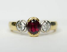 FABULOUS 18ct Ruby and Diamond ring