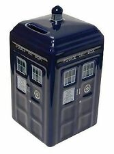 Doctor Who Tardis Ceramic Money Bank - 11th Dr 10th Box Coin Cash
