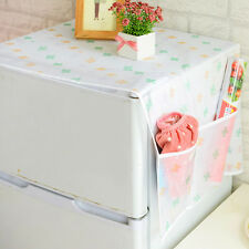 Refrigerator Dust Proof Fridge Top Cover Kitchen Pouch Bag Storage Pocket #1