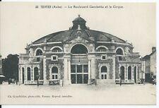 CPA-10- TROYES - le Bulevar Gambetta y le Circo