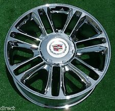 4 BRAND NEW Cadillac Escalade PLATINUM Chrome EXACT OEM GM Style 22 inch WHEELS