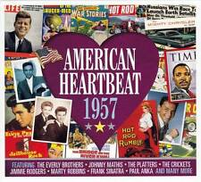 AMERICAN HEARTBEAT 1957  (NEW SEALED 2CD) Elvis Presley-Buddy Holly-Sam Cooke