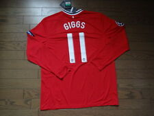 Manchester United #11 Giggs 100% Official Jersey Shirt 2011/12 CL XL BNWT NEW LS