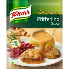 seven (7) Bags Knorr Gourmet chanterelle / Pfifferling Sauce New from Germany