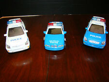 """New York Police Metal Diecast Vehicles - 1:32 scale - Three - Approx. 5"""" x 2"""""""