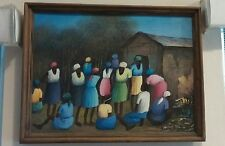 Haitian Painting by Redini Auguste 12 x 16