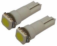 2x Ampoules T5 24V LED SMD blanc pour tableau de bord camion semi-remorque