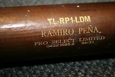 RAMIRO PENA GAME USED ZUCCI LUMBER MODEL WOOD BAT NEW YORK YANKEES BRAVES