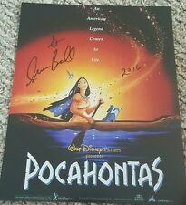 IRINE BEDARD SIGNED 8X10 PHOTO POCAHONTAS DISNEY AUTO W/ COA