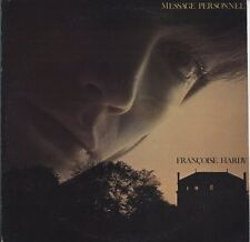 Francoise Hardy - Message Personnel JAPAN LP with LYRIC SHEET