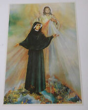Saint Sister Faustina & Divine Mercy Print from Poland, New
