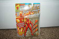 1992 MARVEL SUPER HEROES FANTASTIC FOUR HUMAN TORCH TOY BIZ