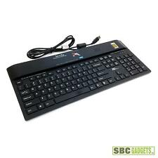 KSI Fingerprint USB Interface Scanner Keyboard - Black (P/N: KSI-1700 HFFFB-6)