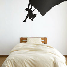 Climber On Overhang Vinyl Wall Art Decal for Home Decor / Interior Design / B...