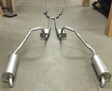 1966 FORD THUNDERBIRD DUAL EXHAUST, ALUMINIZED WITH RESONATORS, 390 ENGINES