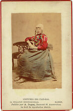 A.Jager : Costumes des Pays-Bas , Marken , vers 1880