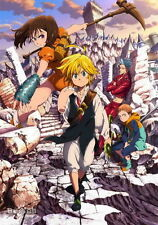 "010 The Seven Deadly Sins - Japanese Manga Series Anime 14""x20"" Poster"