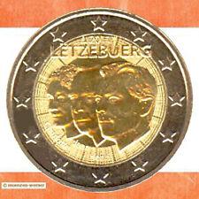 Münzen Luxemburg: 2 Euro Münze 2011 Jean Sondermünze