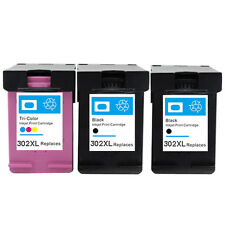 2BK &1C Non-OEM Ink Cartridge 302 XL for use in hp Officejet 4650 4651 4652 4654