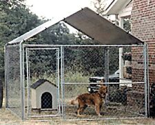 Dog Houses Replacement Canopy Cover 10' x 10' Kennel Pen Cage Shade Outdoor