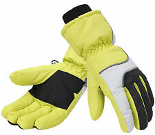Women Thinsulate Lined Waterproof Snowboard Motorcycle Ski Gloves Windproof