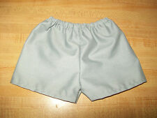 """15-18"""" CPK Cabbage Patch Kids pair of Plain Shorts of ANY color white gray navy"""