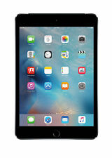 Apple iPad mini 4 128GB, Wi-Fi + Cellular (Unlocked), 7.9in - Space Grey