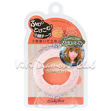 JAPAN Candy Doll Cheek Color Duo 3D Small Face Highlight Blush **PINK FLAMINGO**