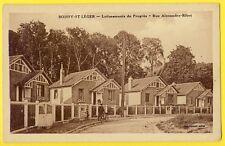 cpa 94 - BOISSY SAINT LEGER Rue Alexandre RIBOT Maisons LOTISSEMENTS du PROGRÈS