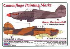 "AML Models 1/72 HAWKER HURRICANE Mk.II ""A"" PATTERN Camouflage Paint Mask Set"